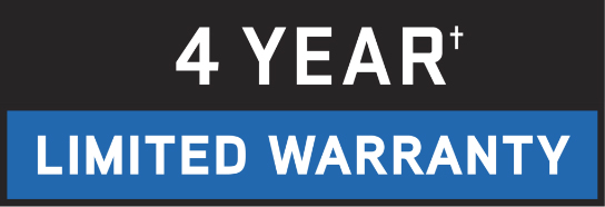 4 year limited warranty